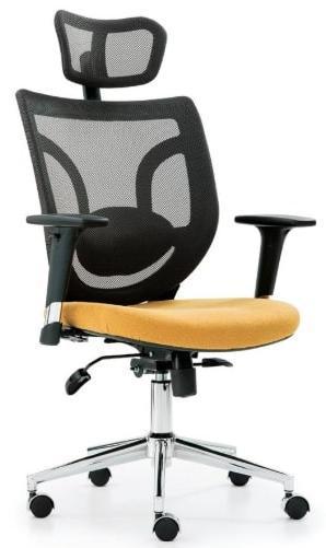 action hareketli kollu fileli yönetici koltuğu
