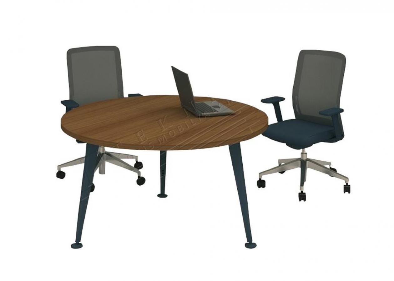 afrodit yuvarlak toplantı masası 140q