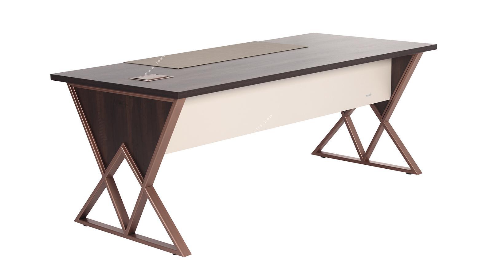 ashen özel tasarım makam masası 200cm