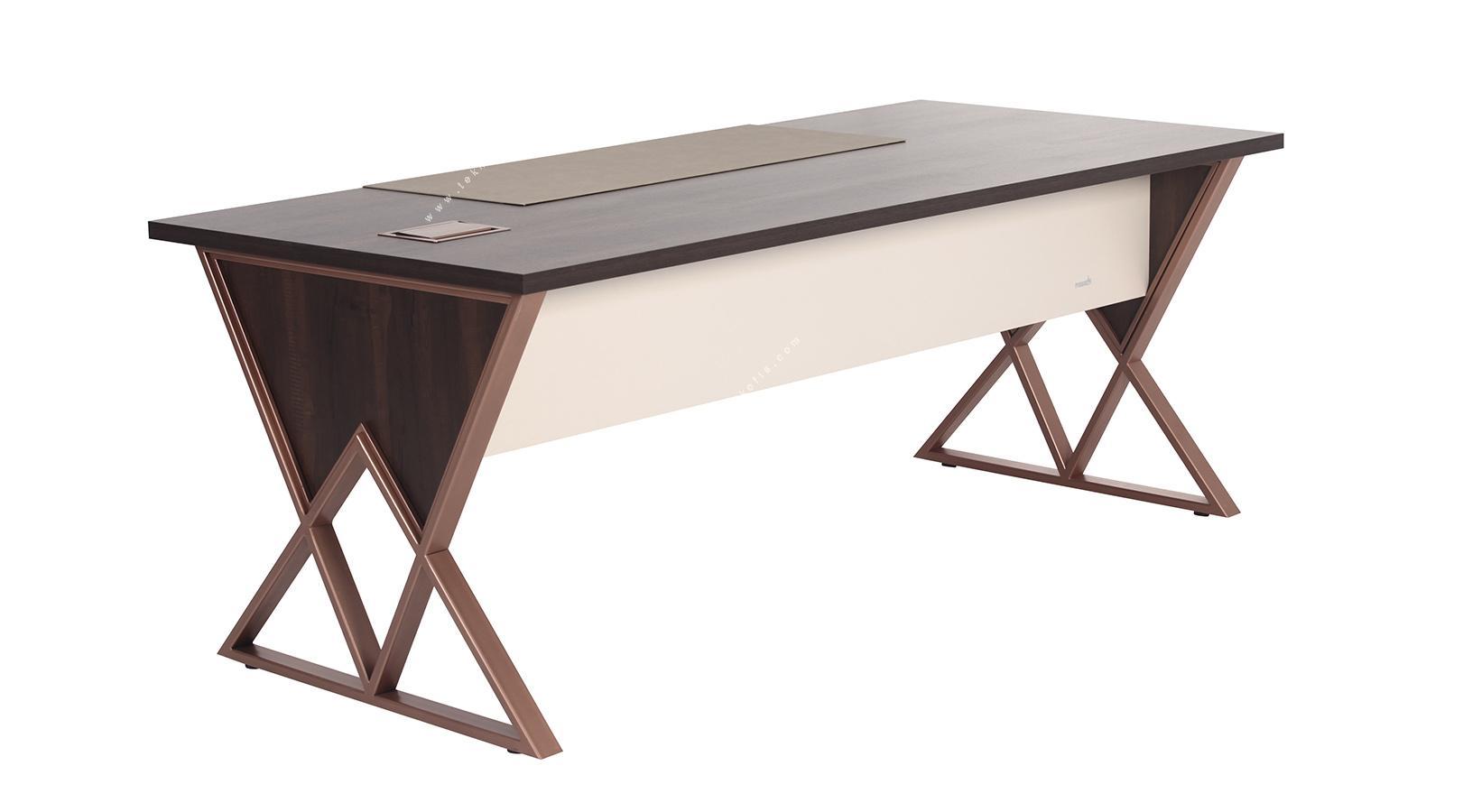 ashen özel tasarım makam masası 220cm