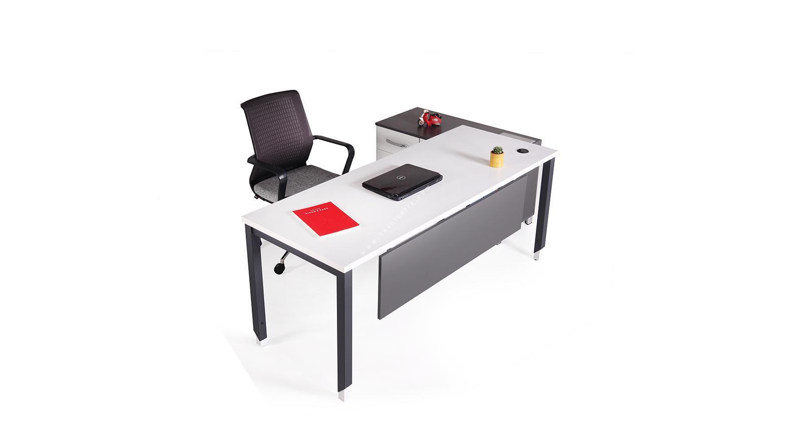 aveon etajerli çalışma masası 180cm