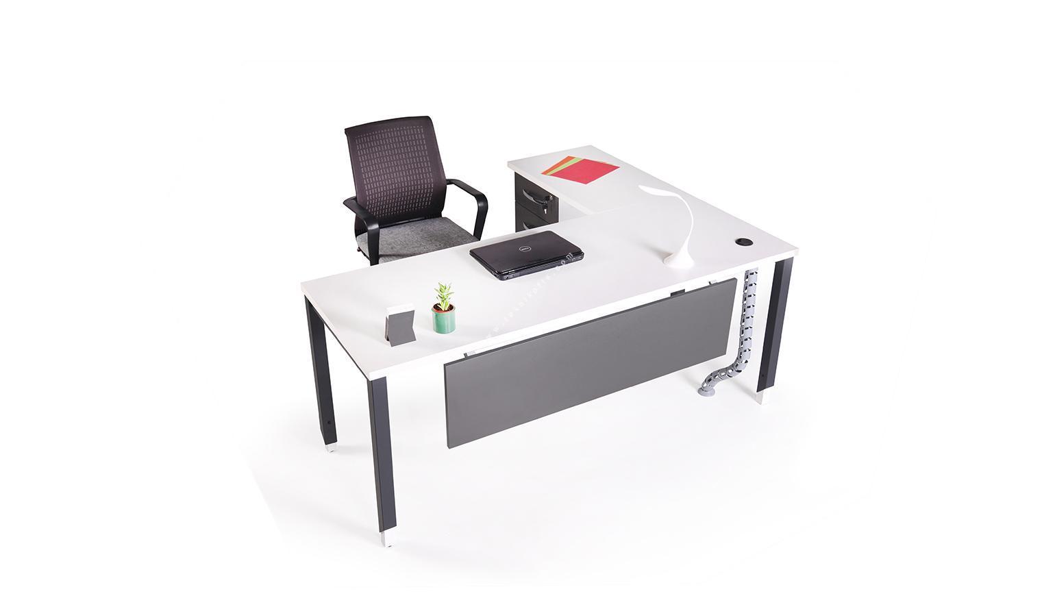 aveon etajerli l çalışma masası 160cm