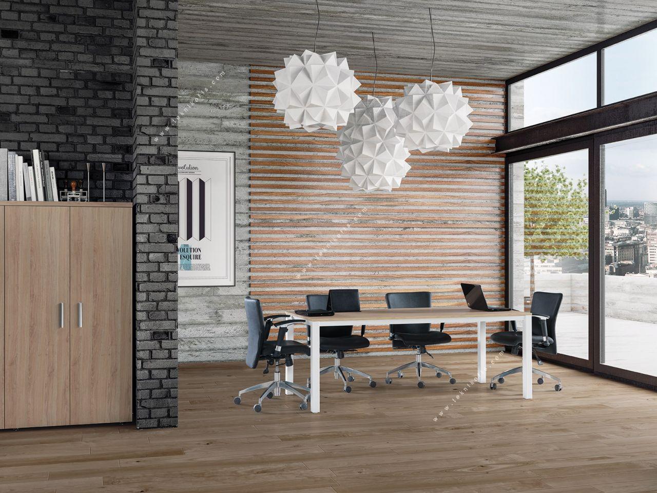axwel toplantı masası 200cm