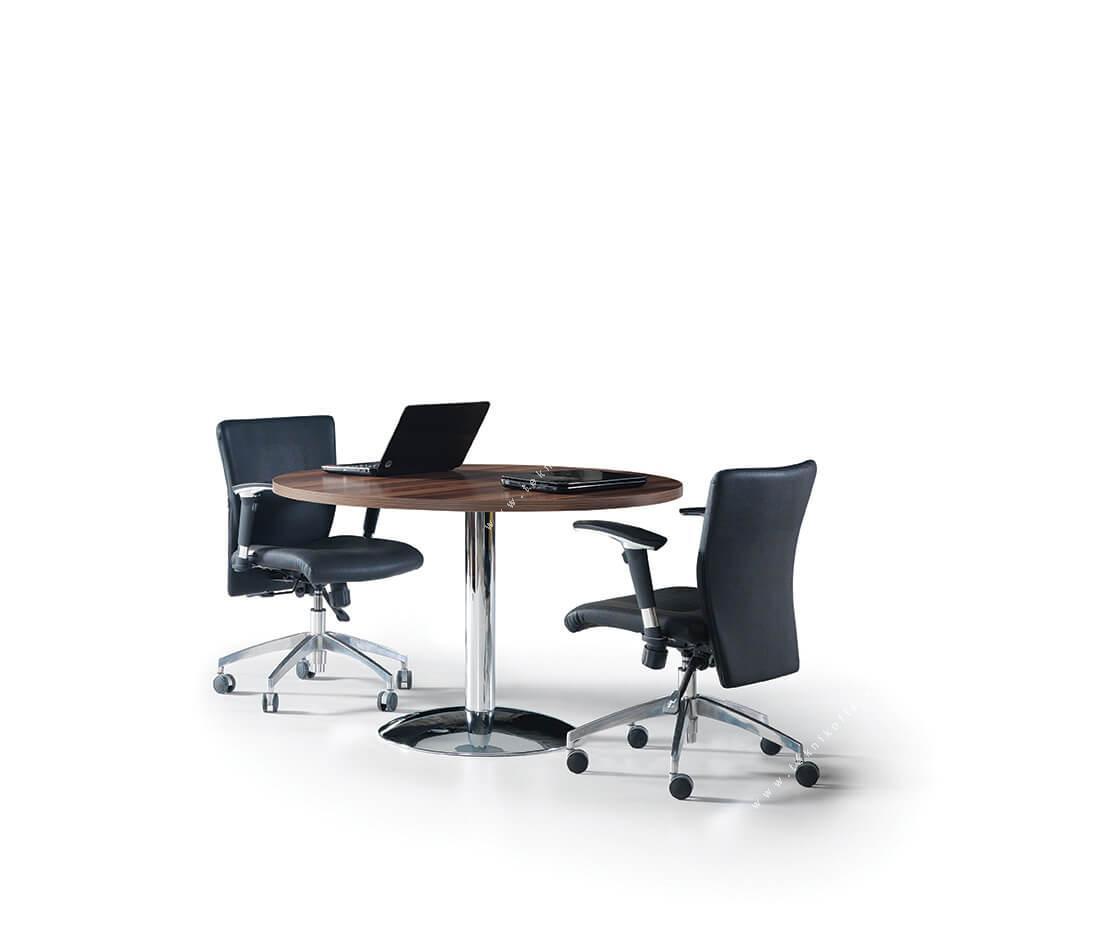 blur krom toplantı masası 120q