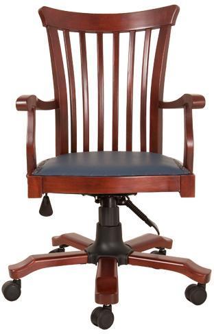 bodin ahşap yönetici koltuğu