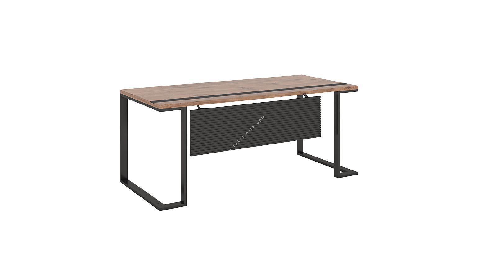 bondo çift ayaklı masa 180cm