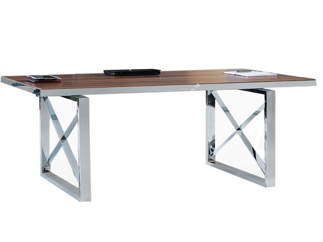Calvin Krom Suntalam Toplantı Masası 200cm