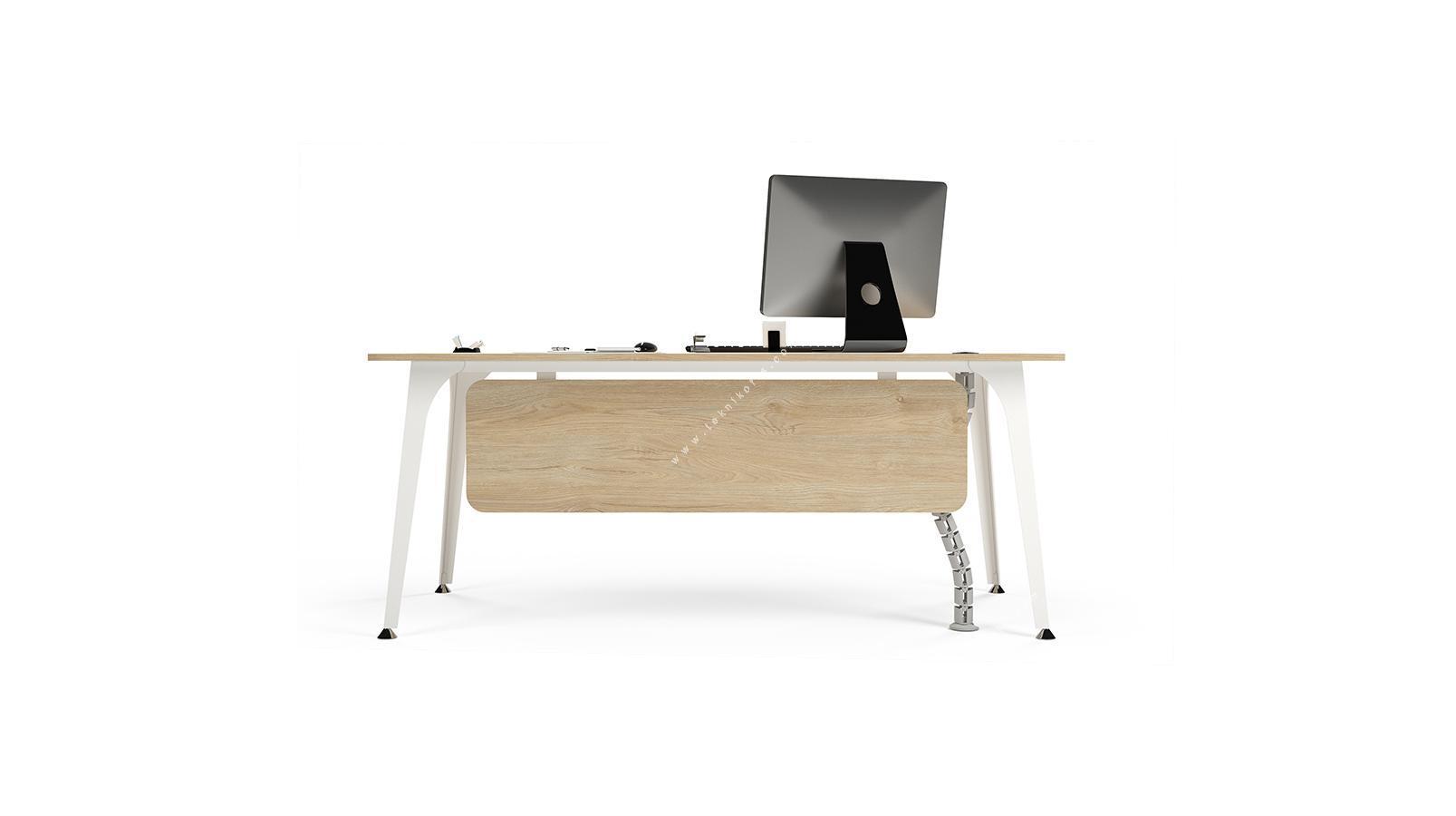 centra dört ayaklı personel masası 140cm