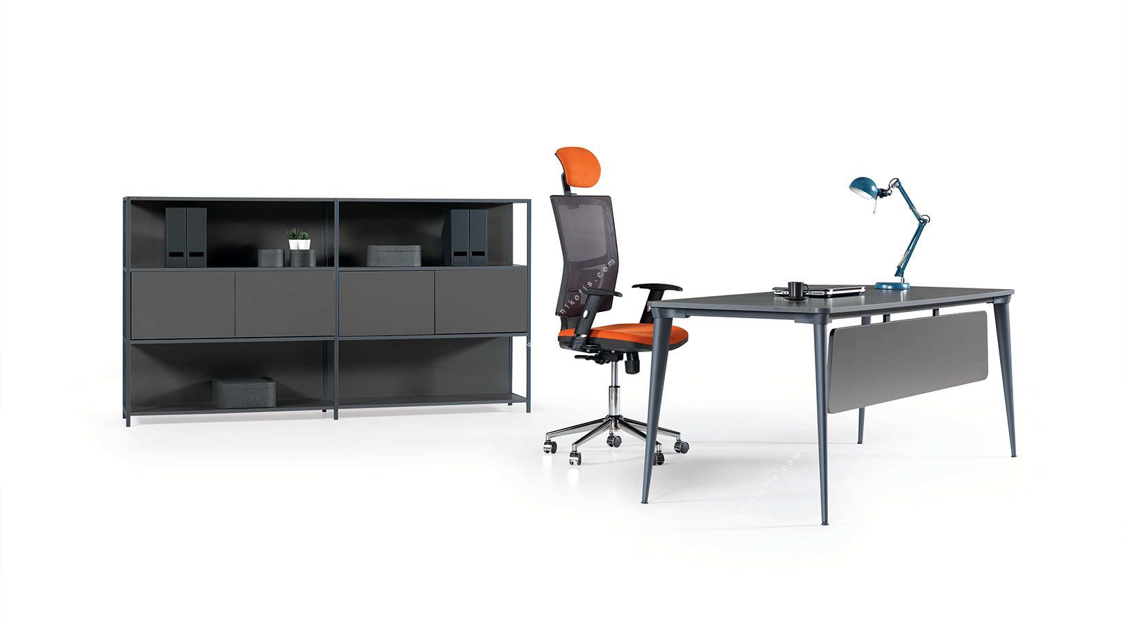 daniel yönetici ofis mobilyası 200cm