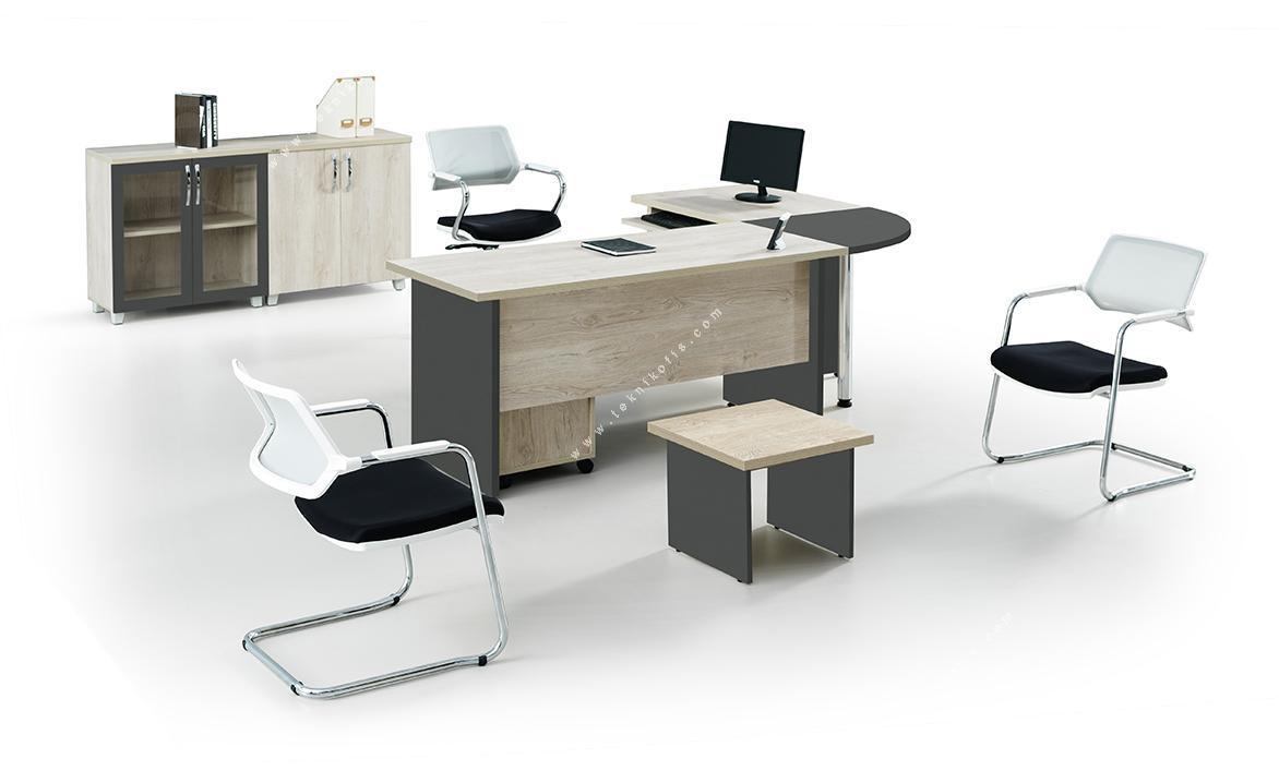 efow etajer ofis masa takımı