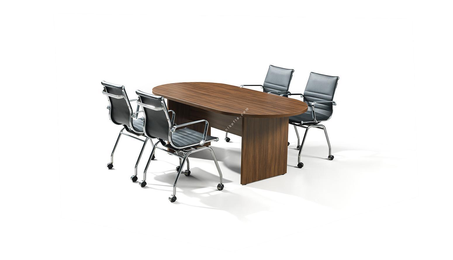 efow oval toplantı masası 200cm