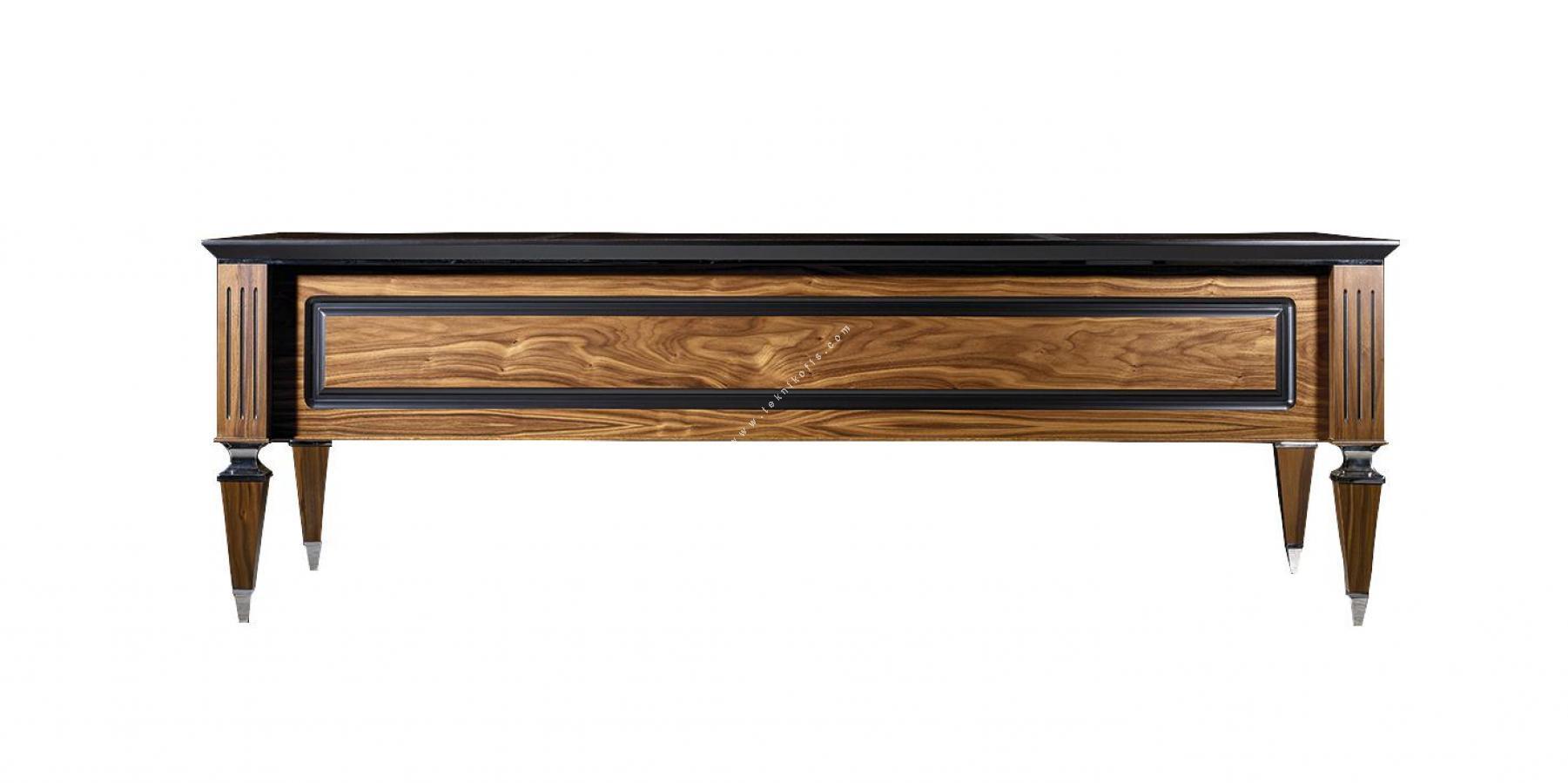 grade ceviz makam masası 240cm