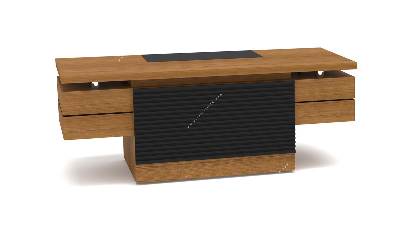 letra kesonlu makam masası 200cm