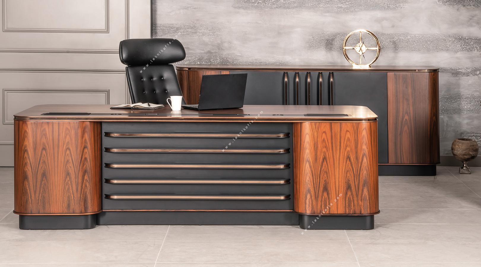 linex vip yönetici odası mobilyası