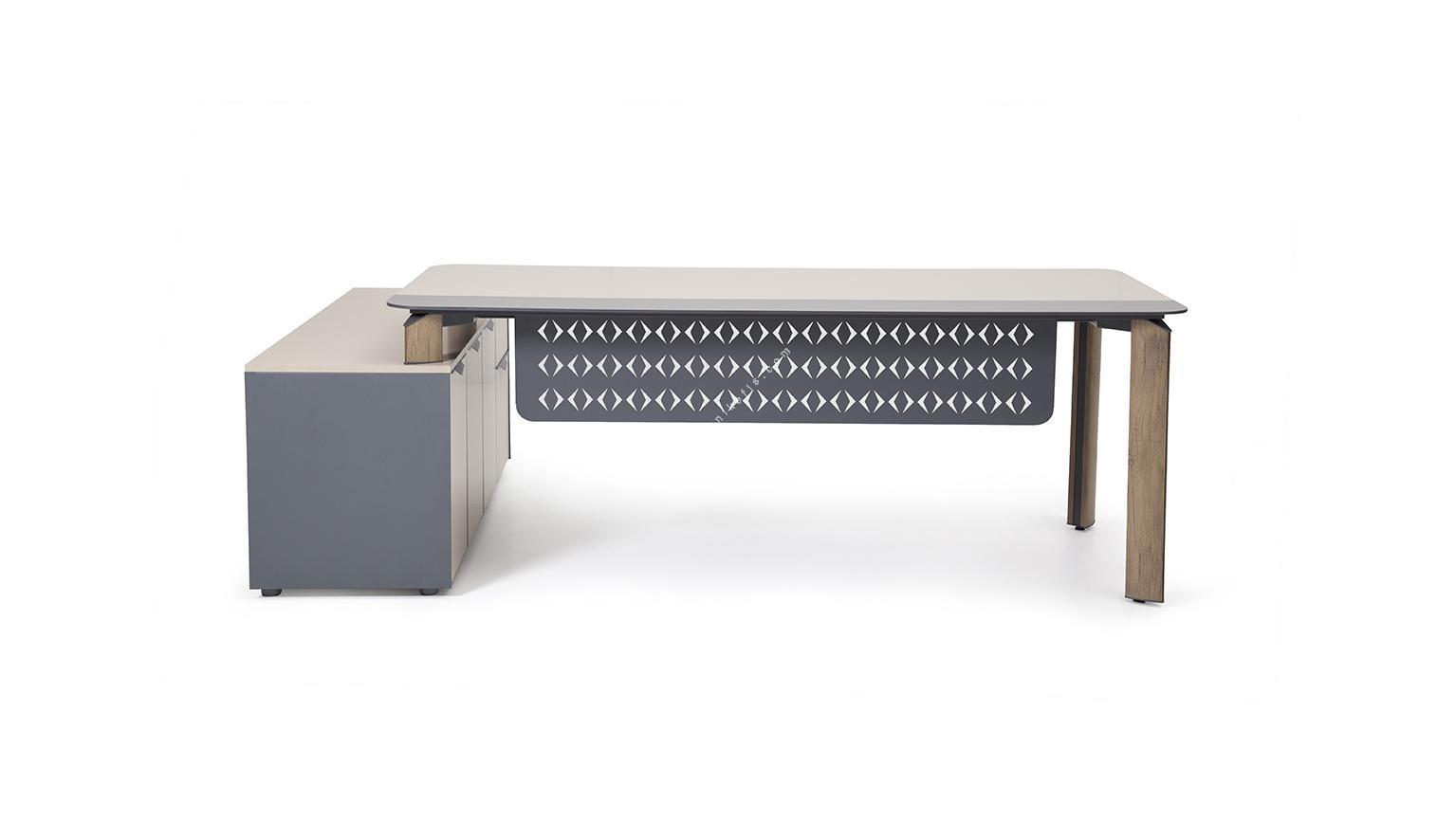 manola etajerli yönetici masası 180cm