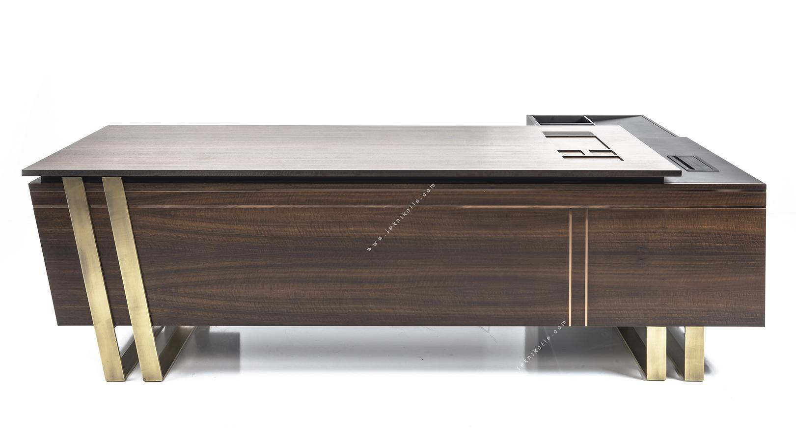 marble etajerli makam masası