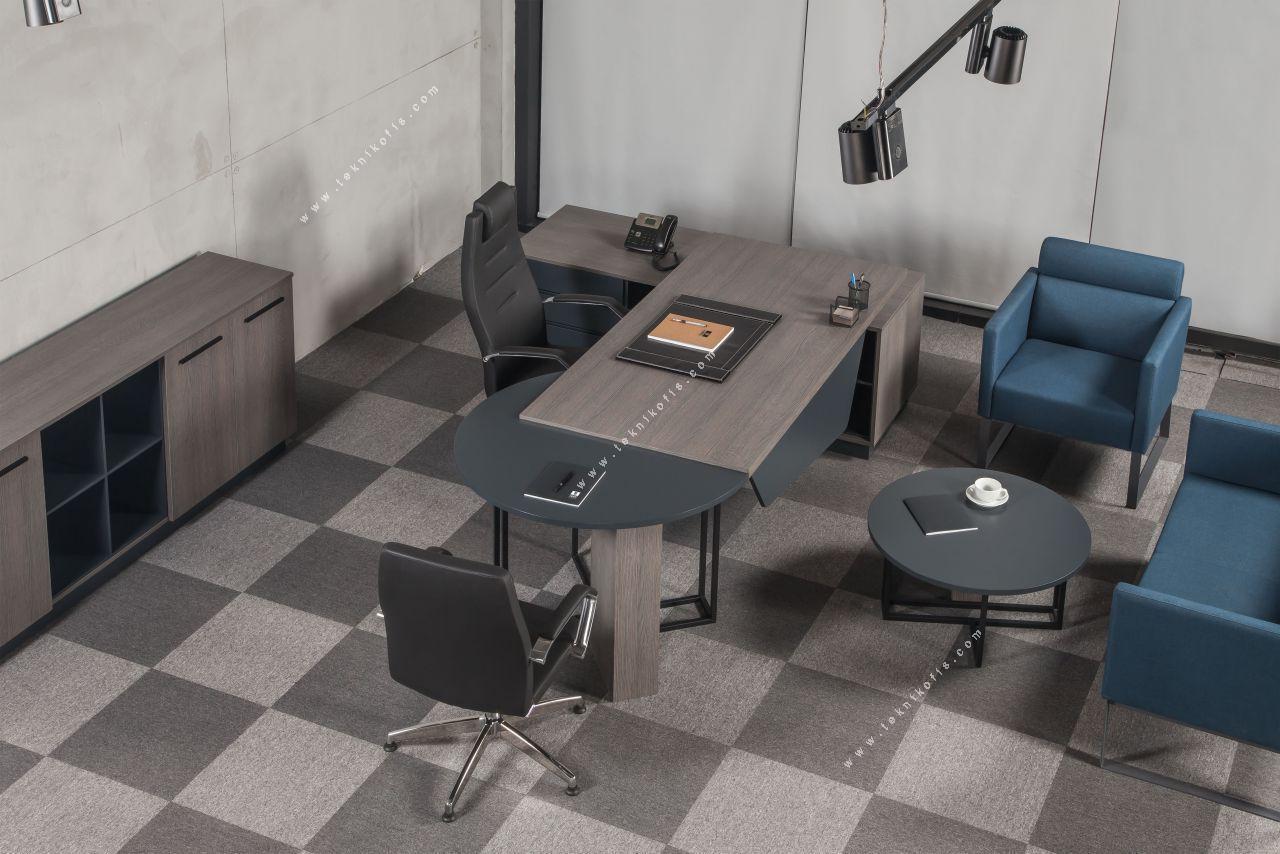 master modern yönetici ofisi mobilyası