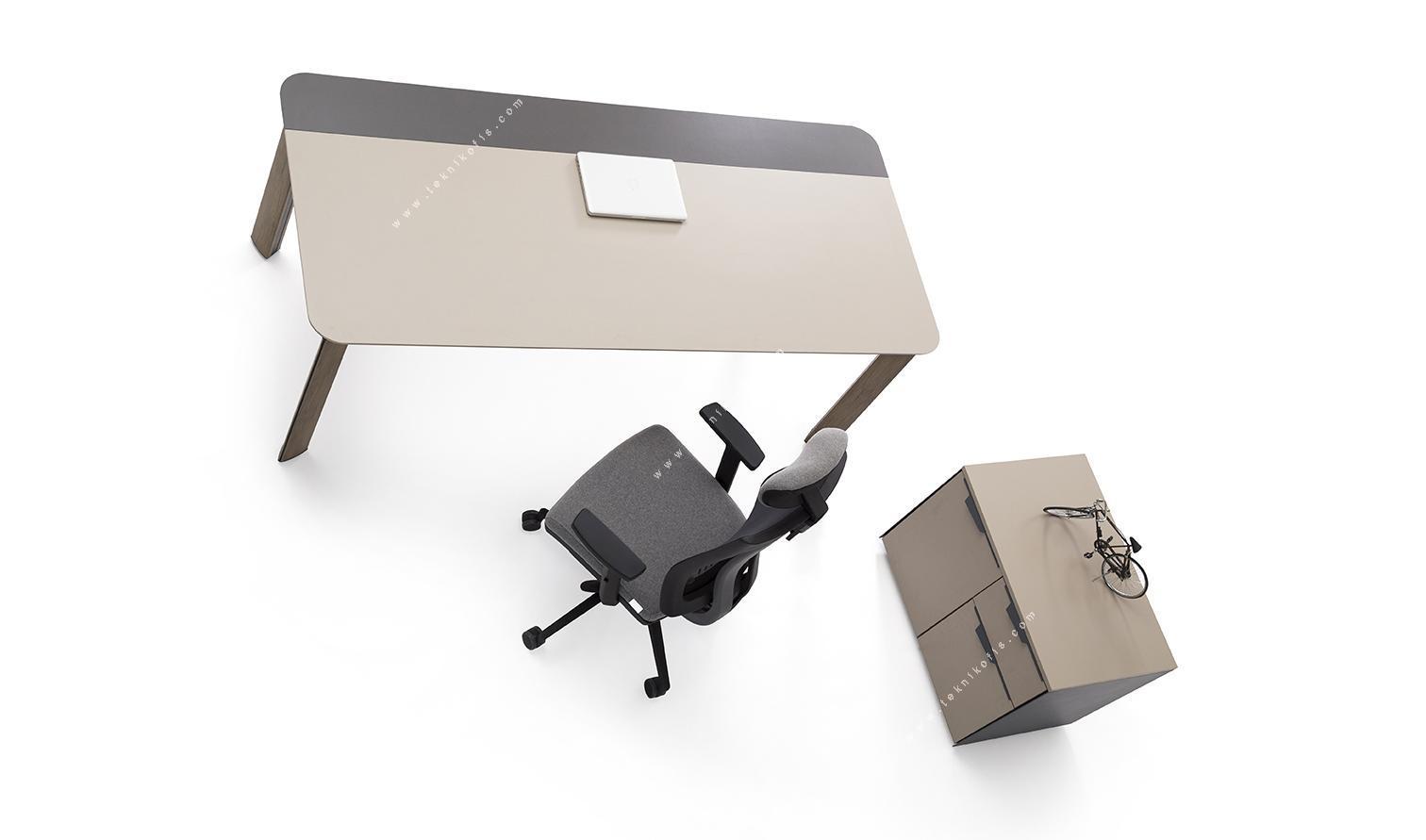 mettle yönetici masası 180cm
