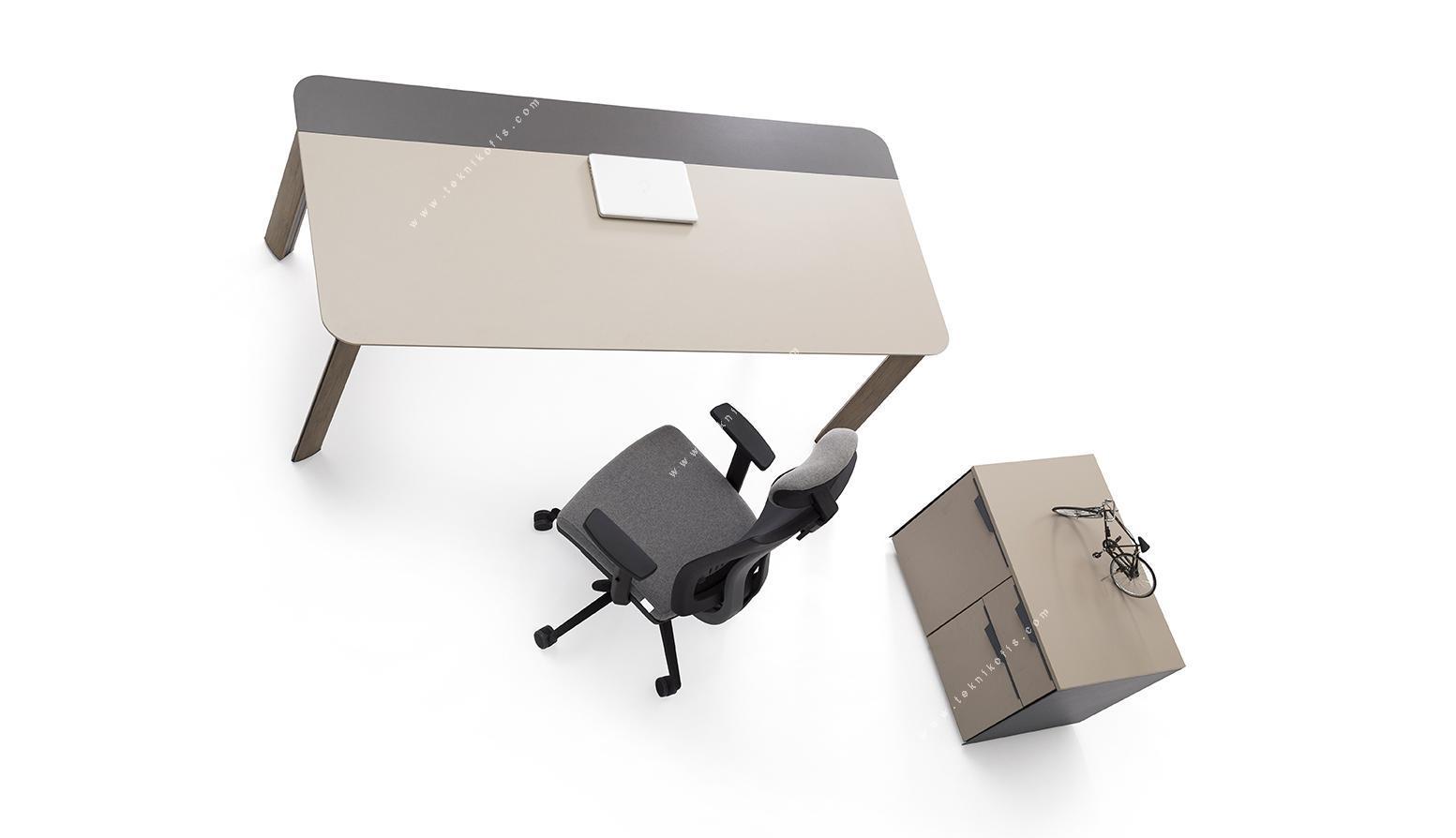 mettle yönetici masası 200cm