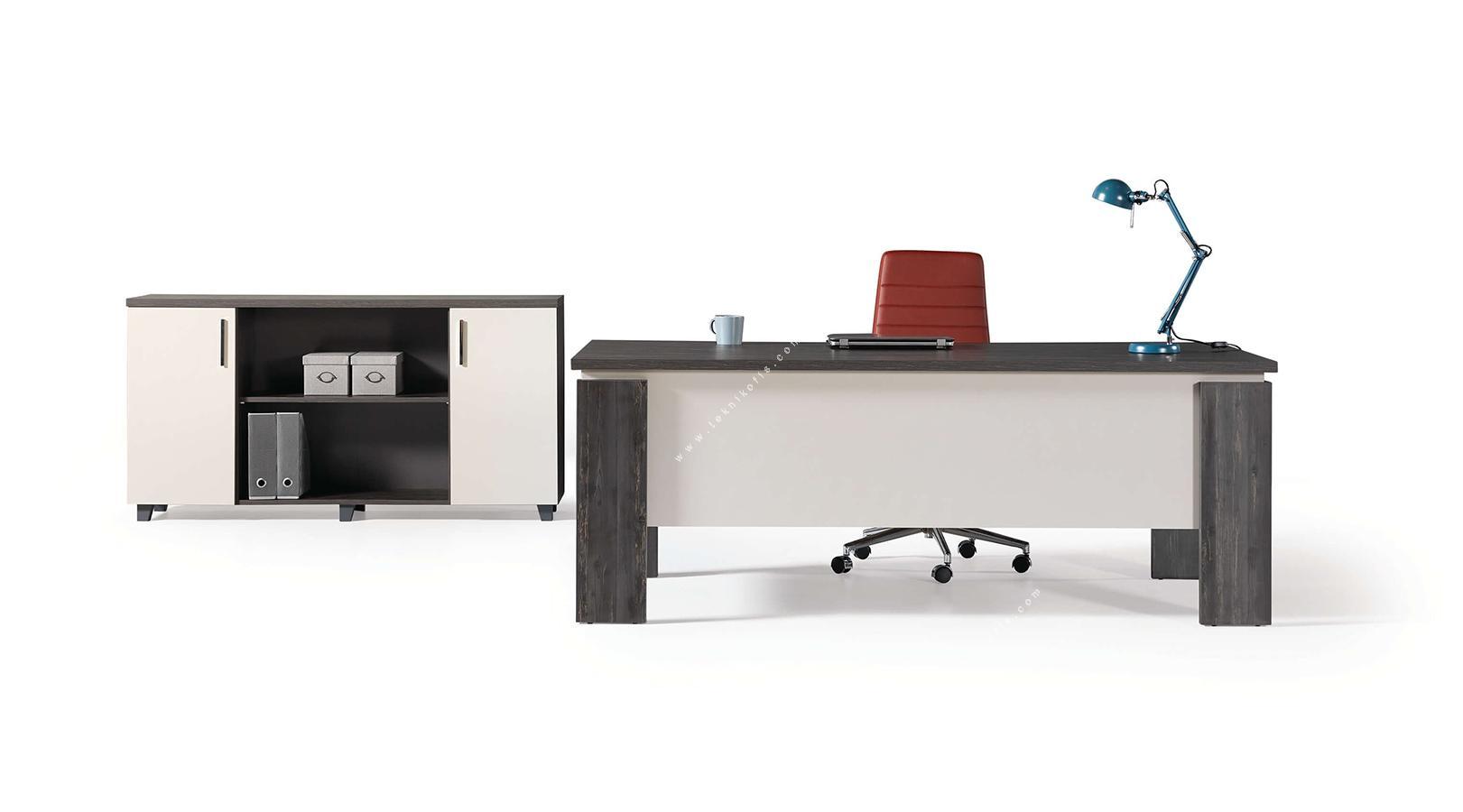 movalin personel ofis mobilyası 200cm