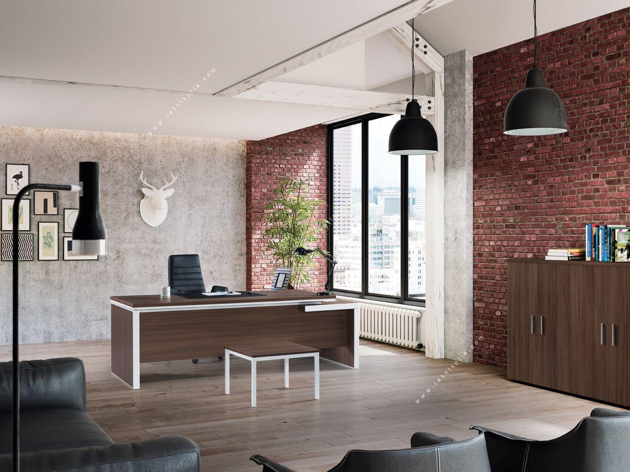 new live yönetici ofis mobilyası