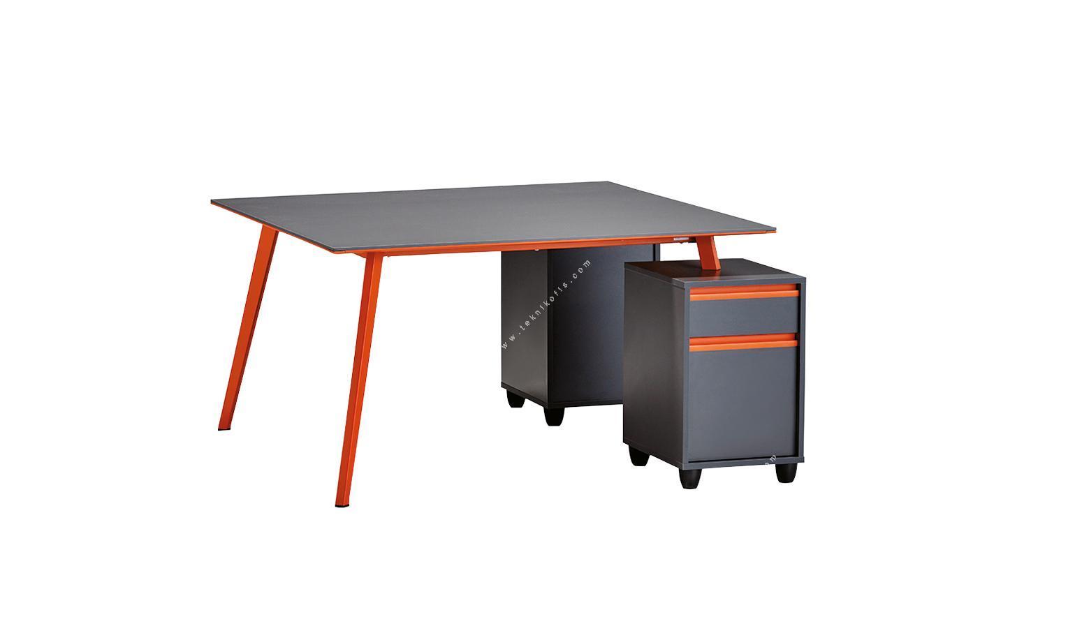 newvega 2 li 2 ayaklı 140cm çerçeveli masa