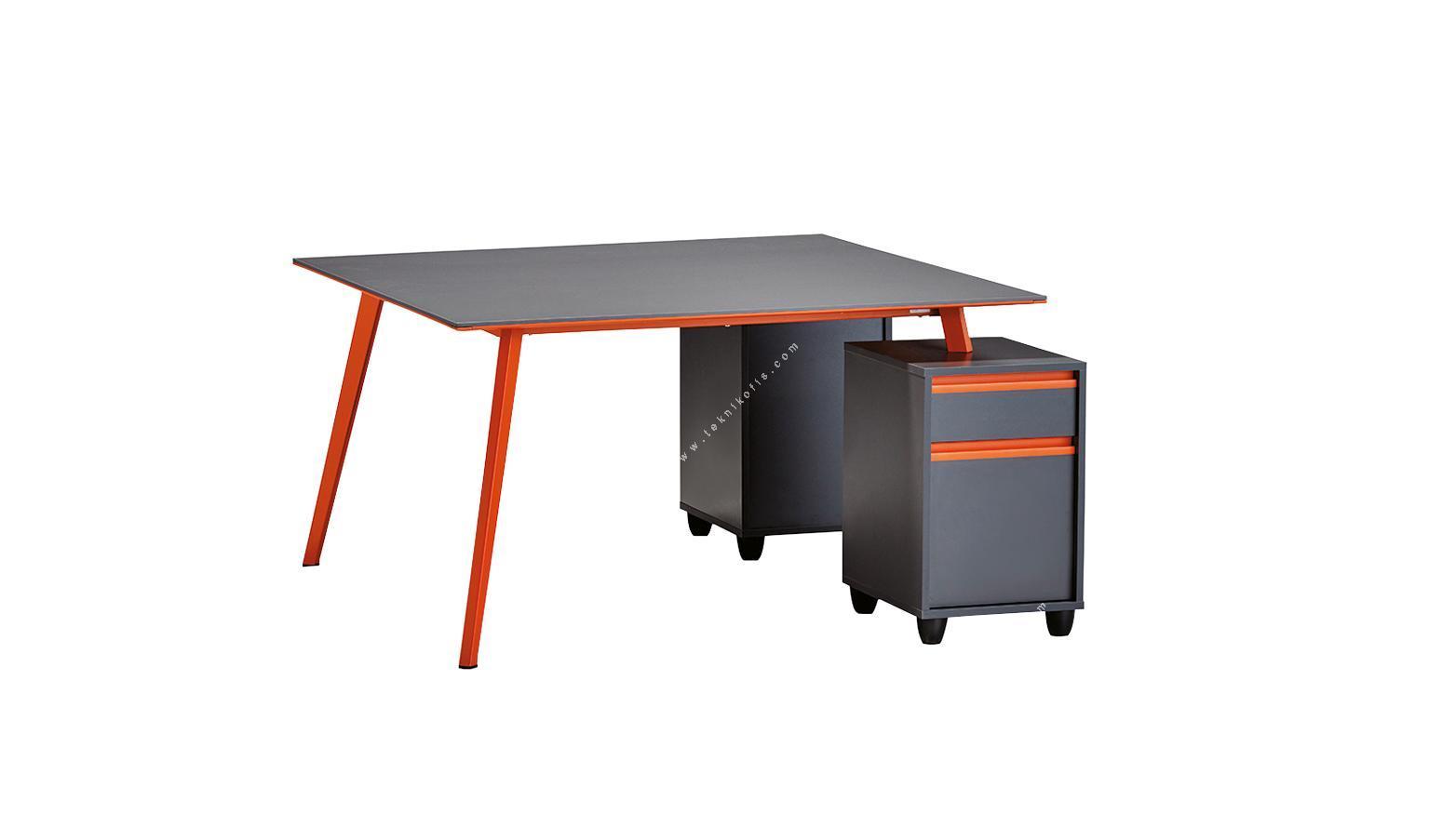 newvega 2 li 2 ayaklı 160cm çerçeveli masa