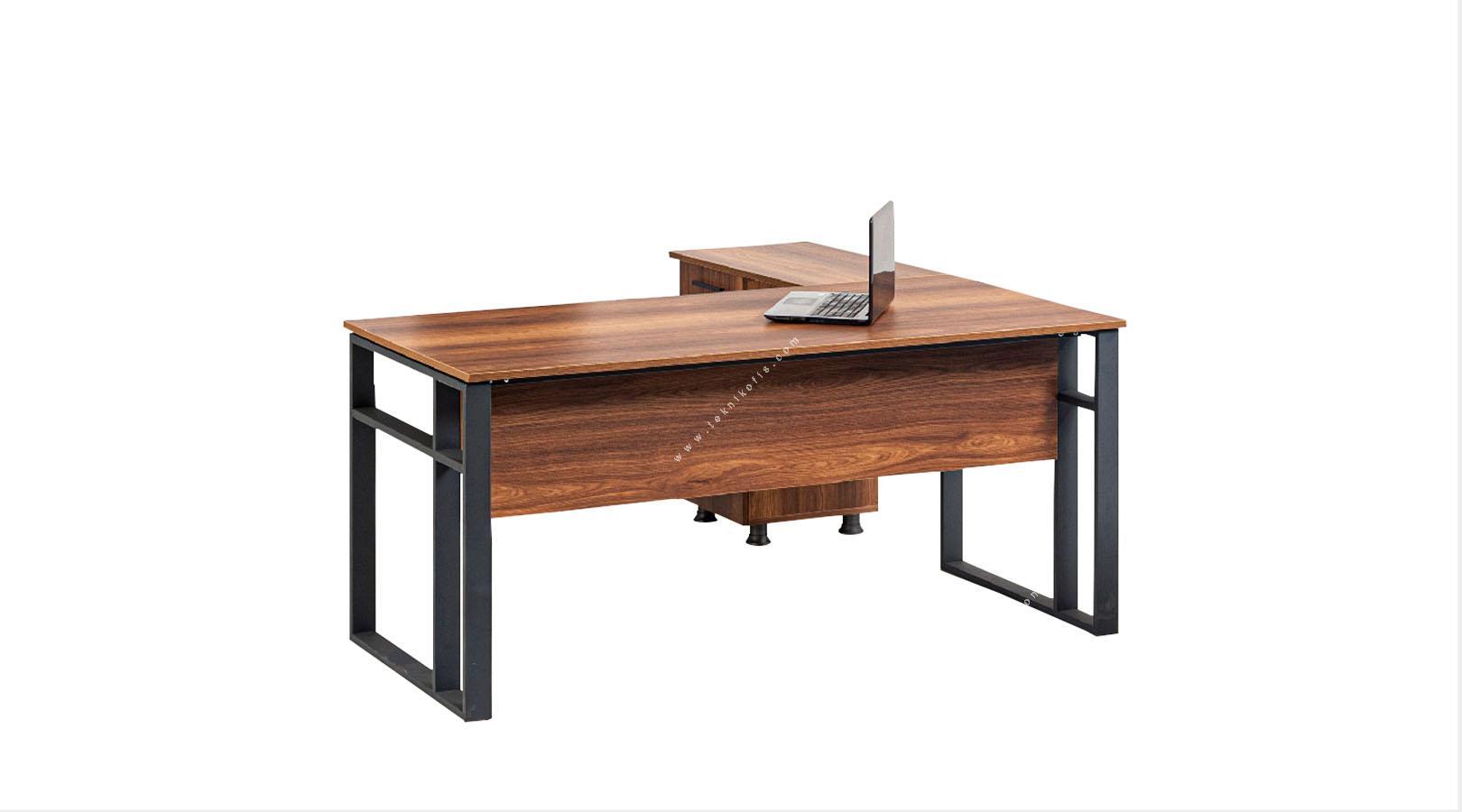 nimpa etajerli yönetici masası 160cm