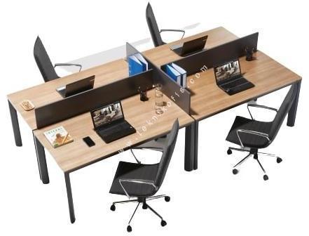 olas çoklu çalışma masası 280cm