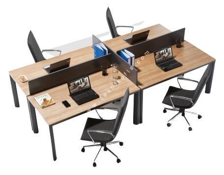 olas ikili çalışma masası 160cm