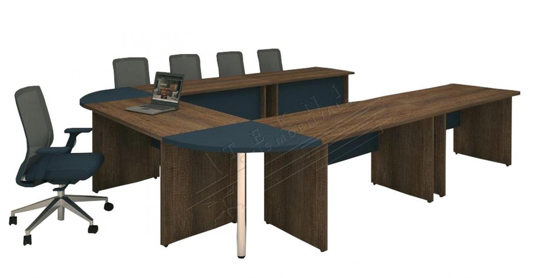 pira u toplantı masası 350cm