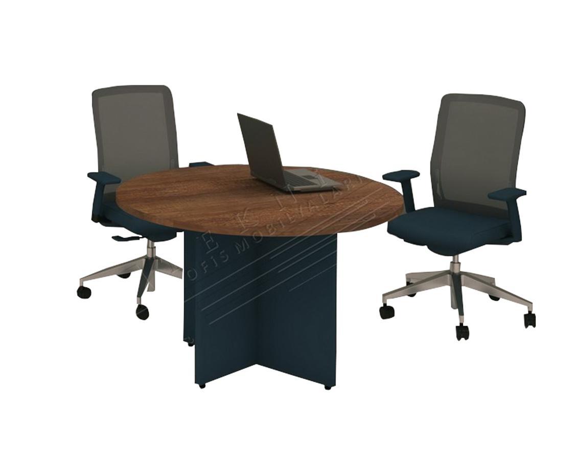 pira yuvarlak toplantı masası