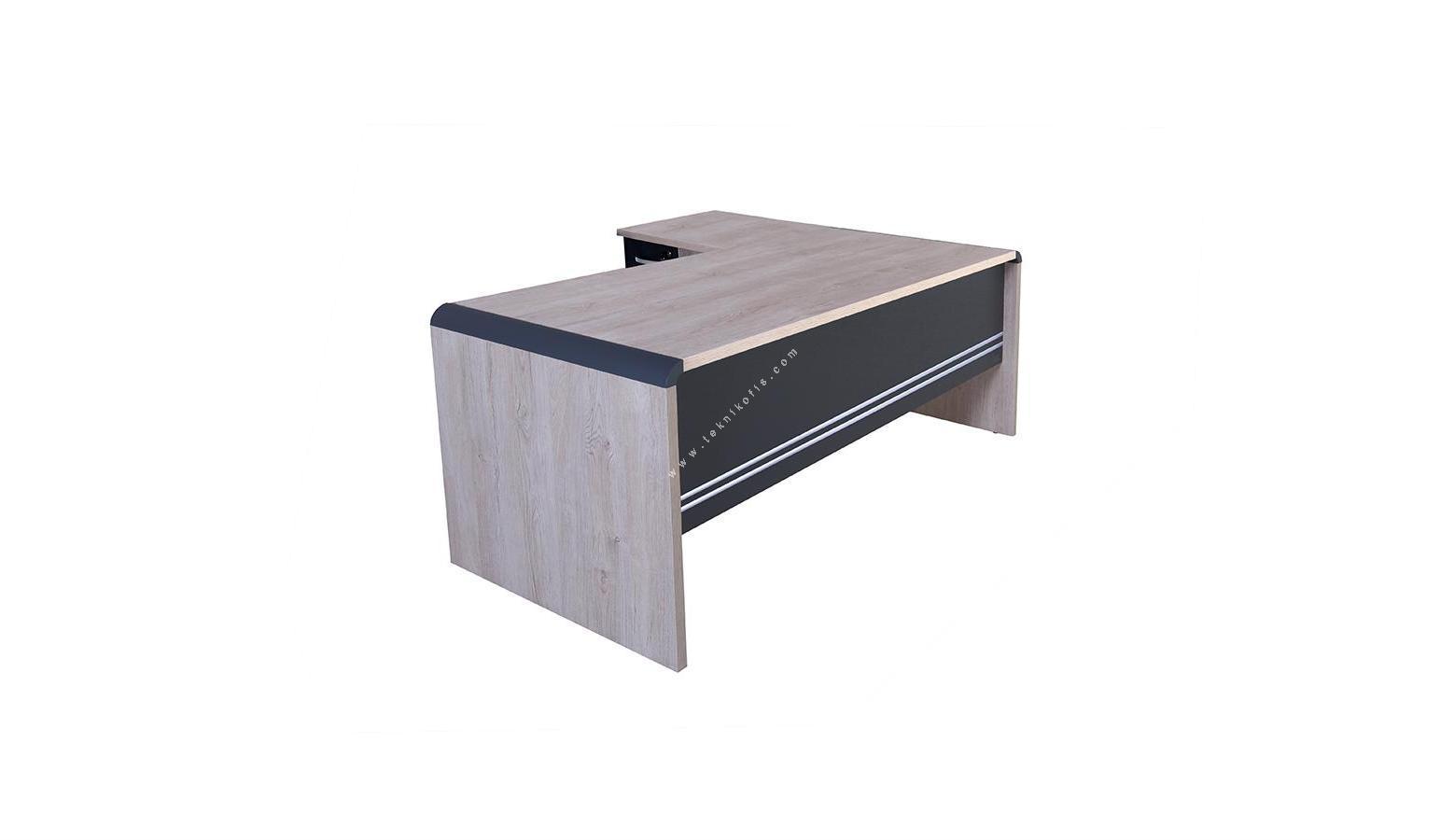 pola etajerli çalışma masası 160cm