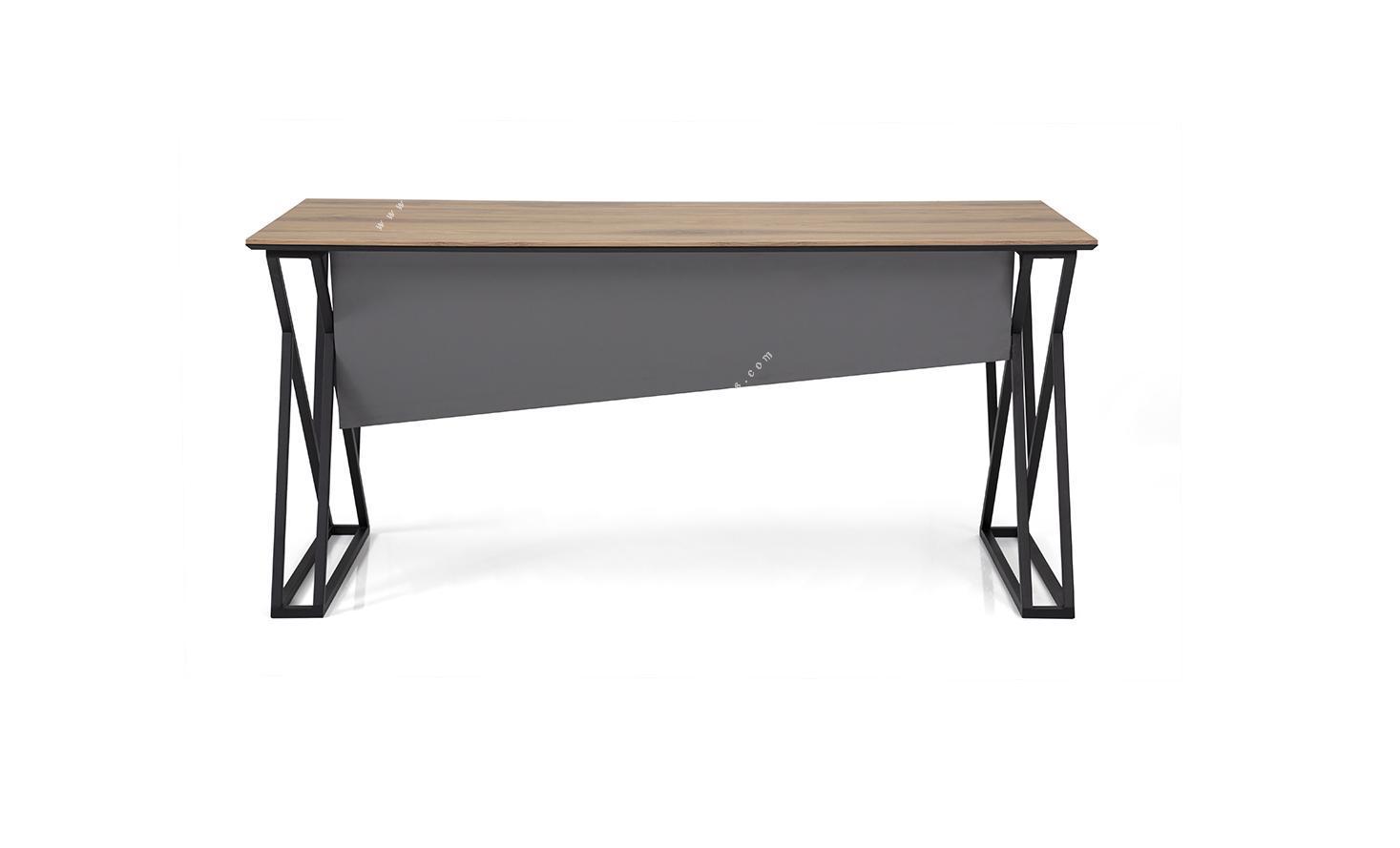 pulsante metal ayaklı büro masası 160cm