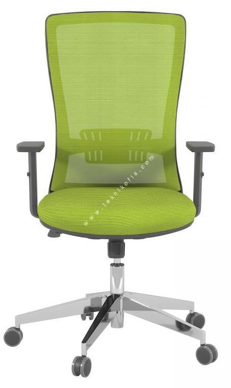 reva alüminyum ayarlı kol çalışma koltuğu
