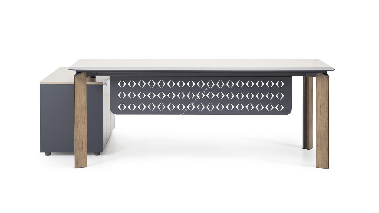 swap etajerli yönetici masası 180cm