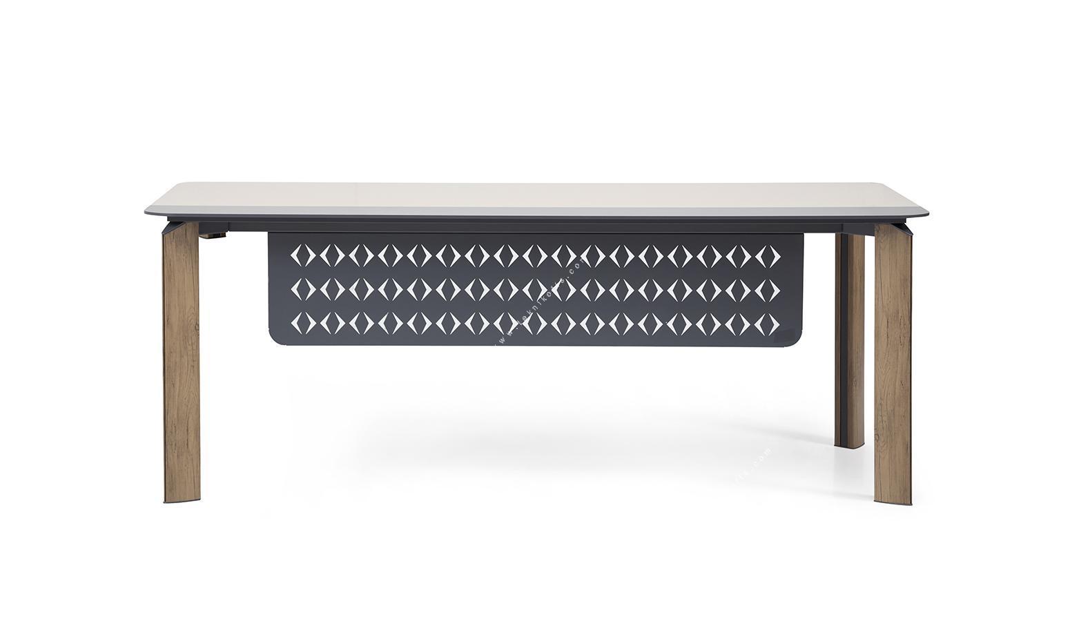 swap etajerli yönetici masası 200cm