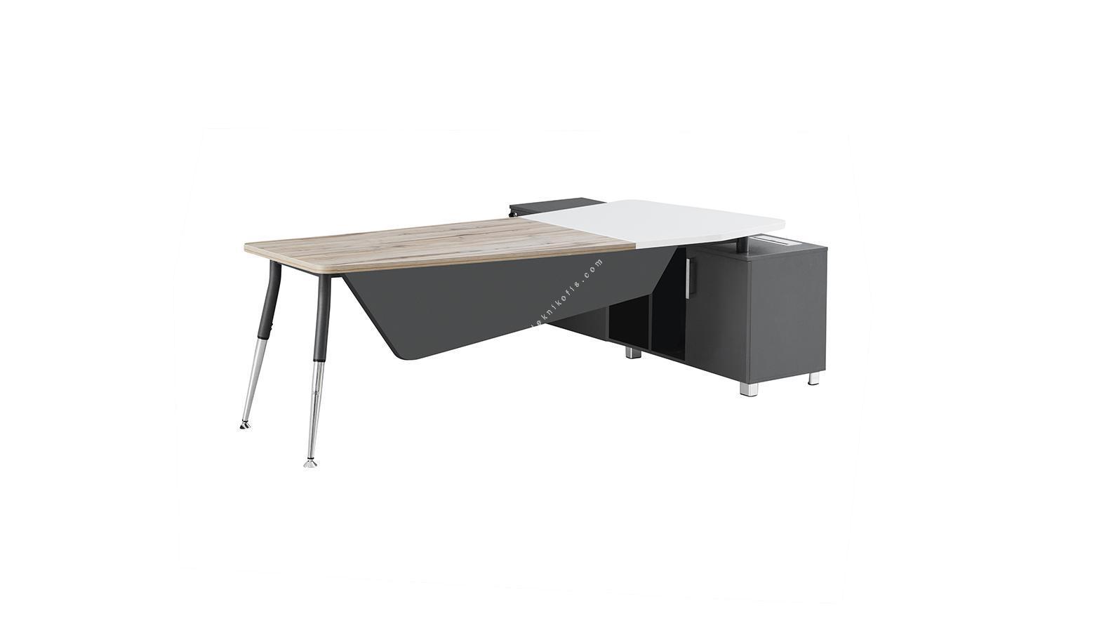 touch etajerli yönetici masası 245cm