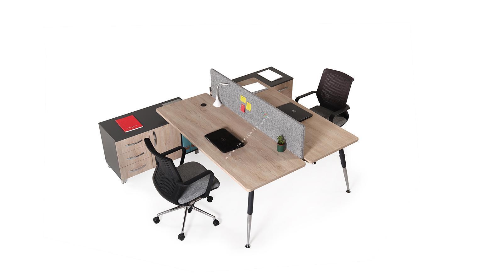 toucher 180cm ikili masa 18mm kumaş kaplamalı separatör