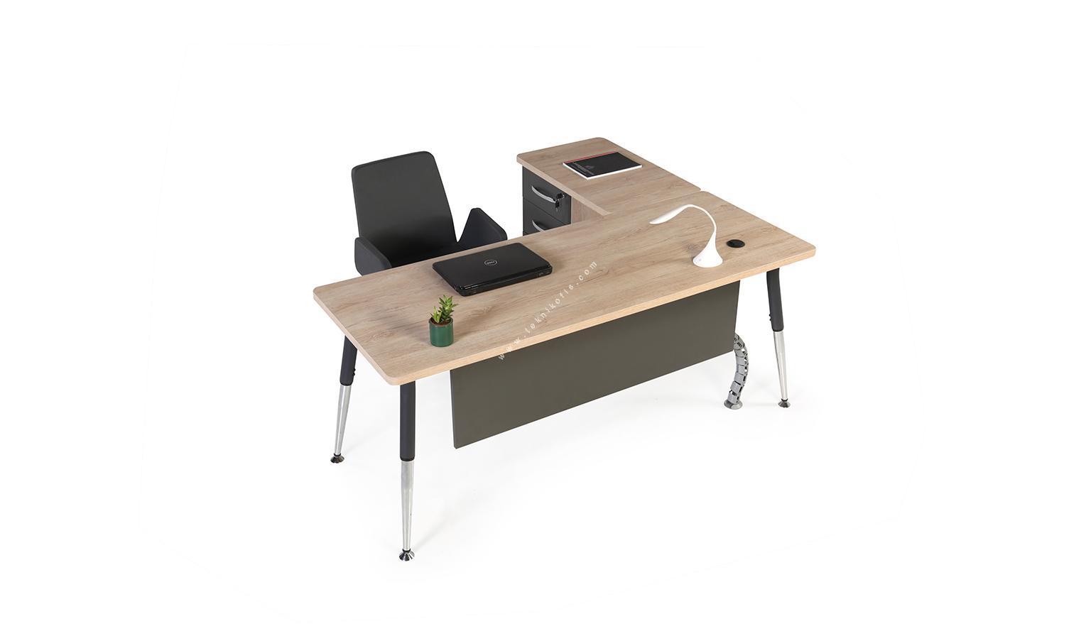 toucher etajerli l çalışma masası 140cm