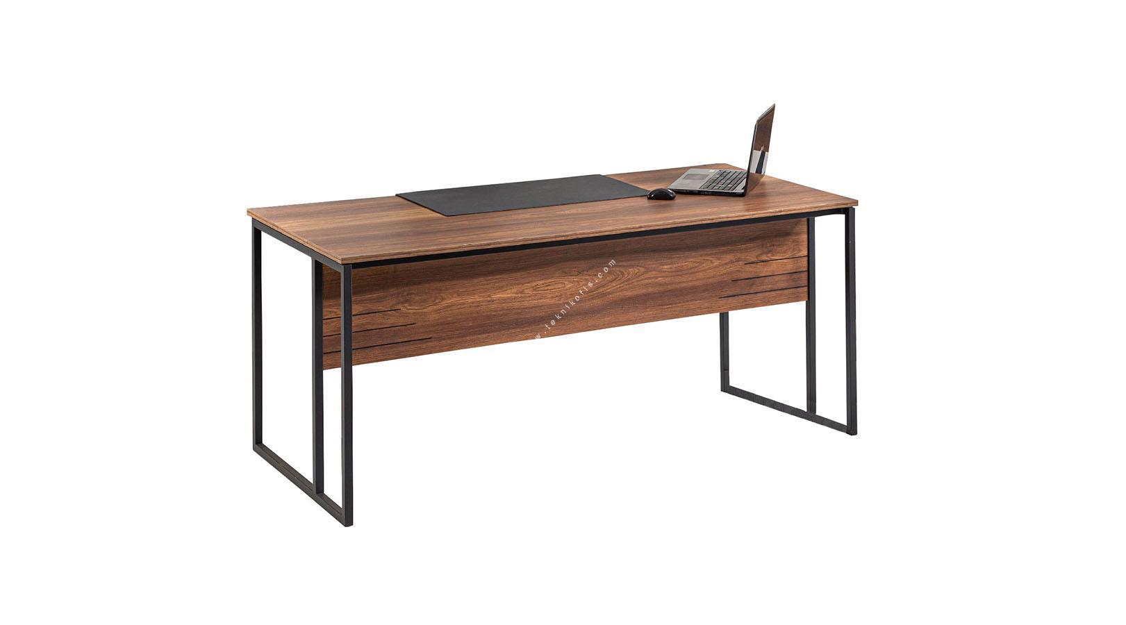 trelos metal ayaklı yönetici masası 180cm