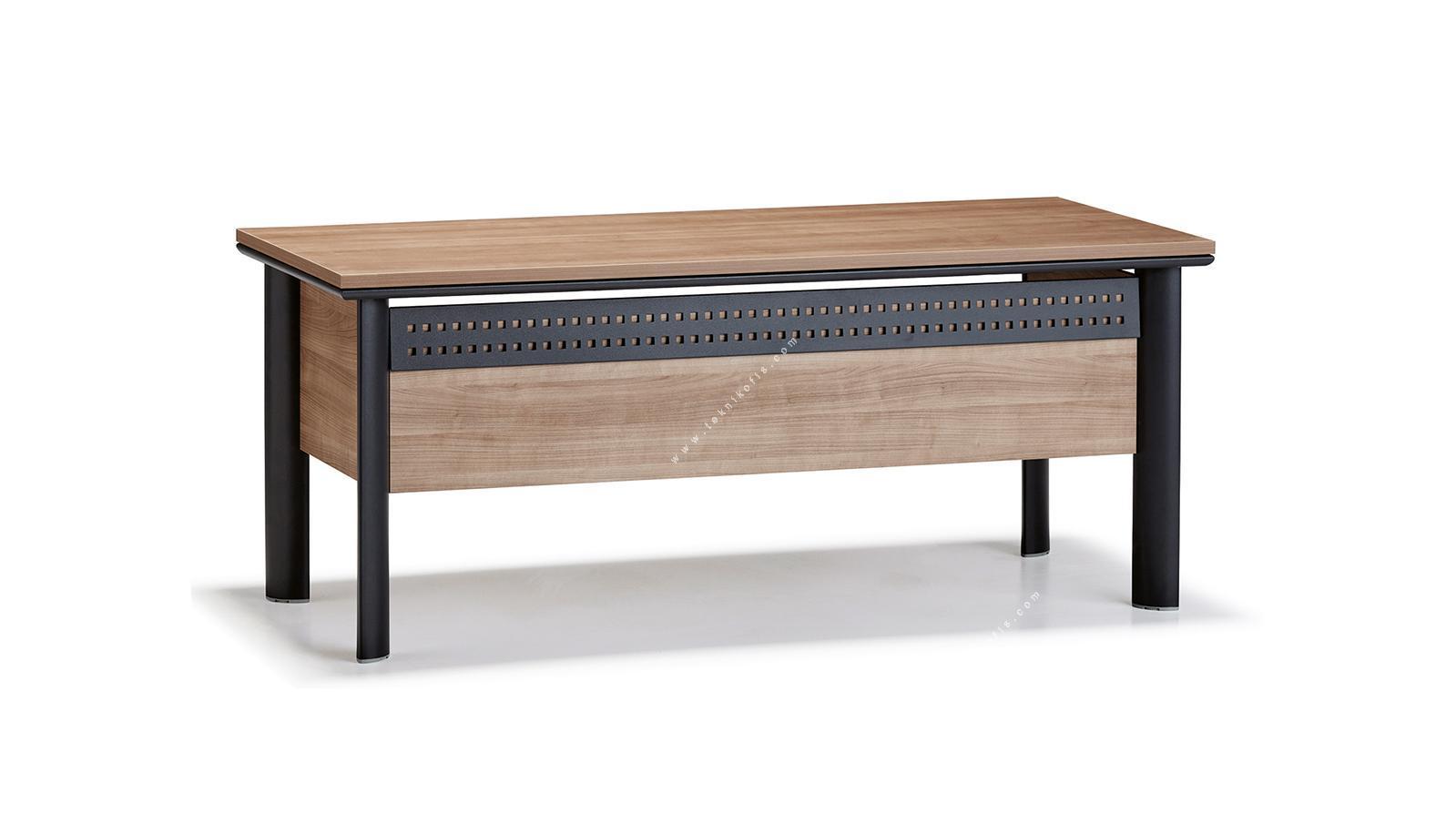 trula metal perdeli çalışma masası 160cm
