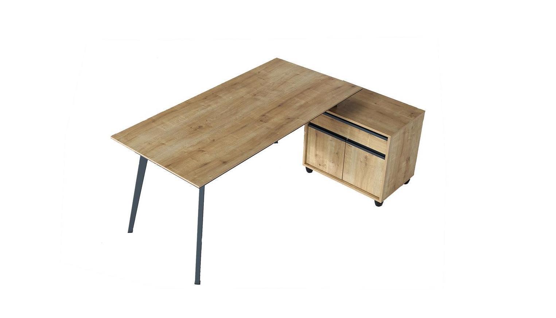 vega üç ayaklı metal ayaklı çalışma masası 140cm