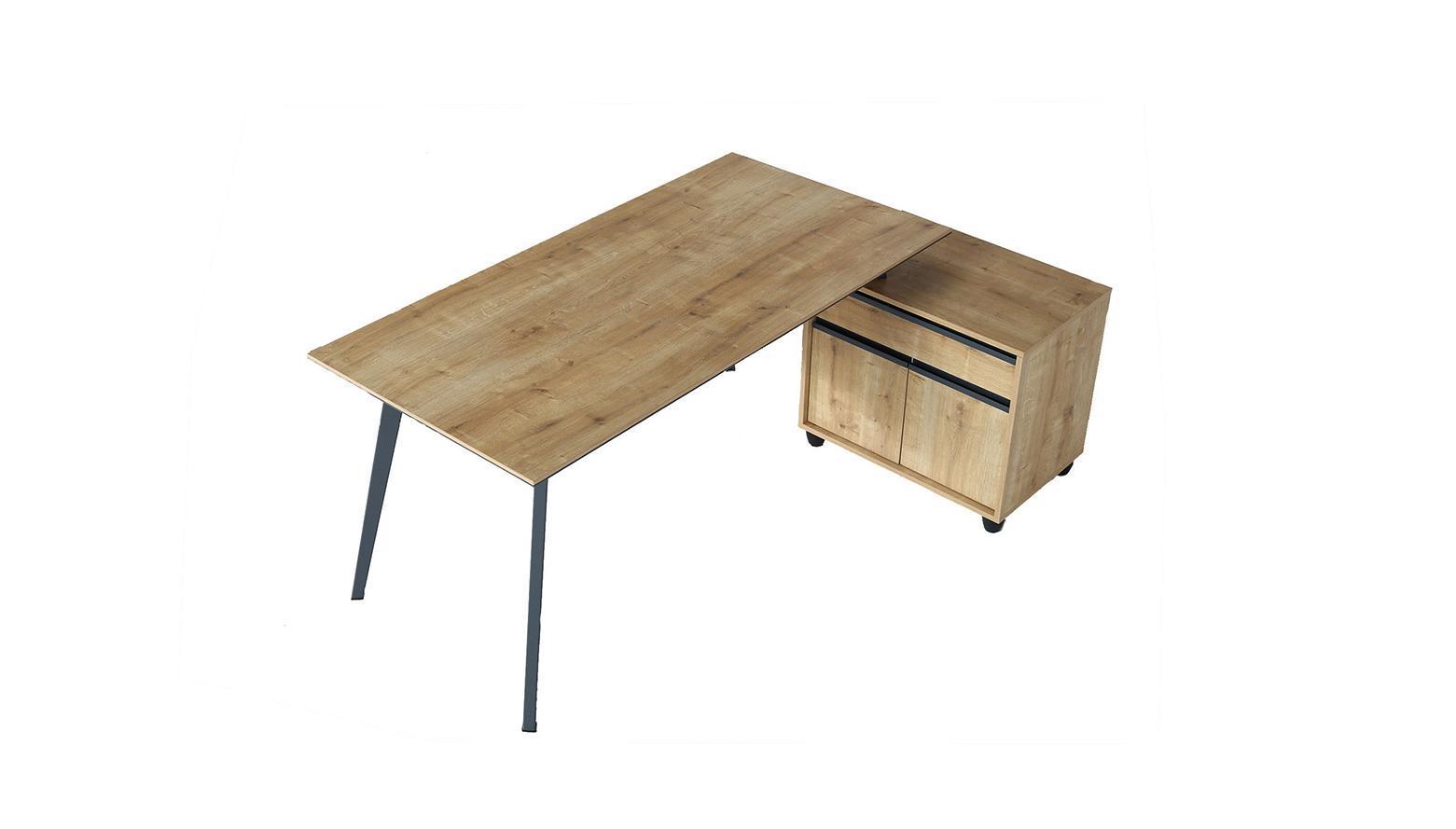 vega üç ayaklı metal ayaklı çalışma masası 160cm