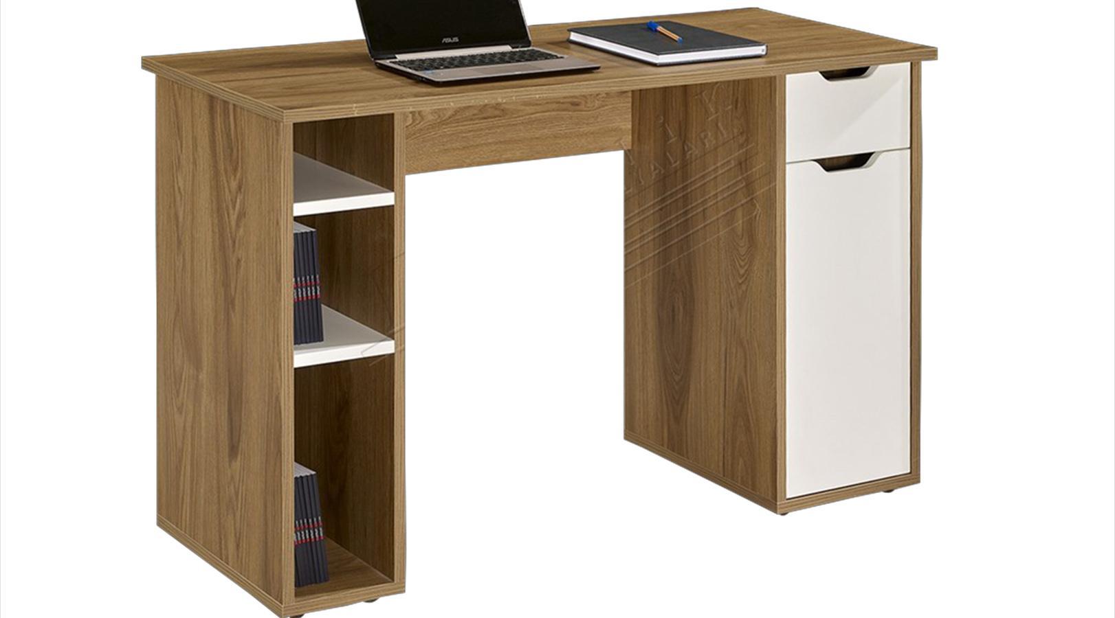 versatile raflı çalışma masası
