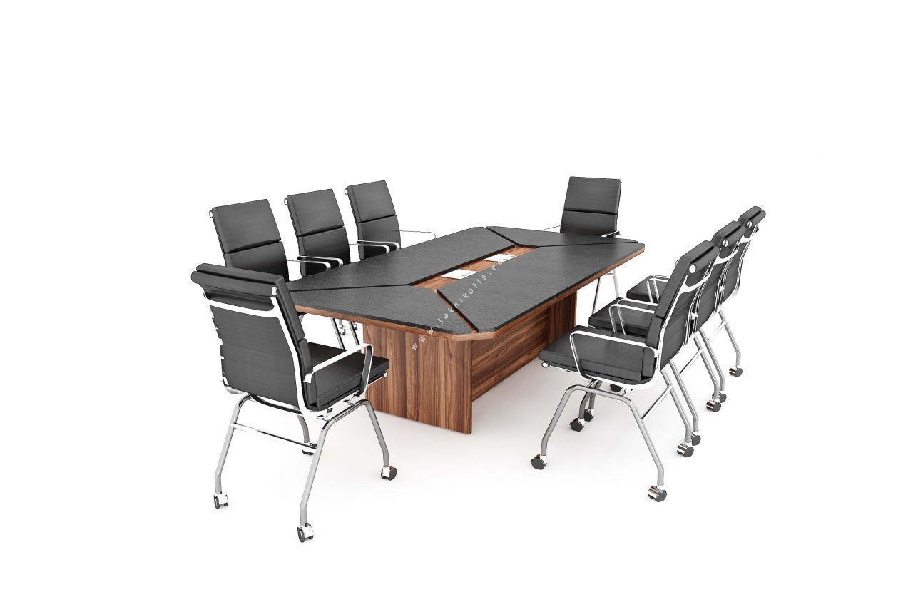 zanotta melamin 245cm toplantı masası