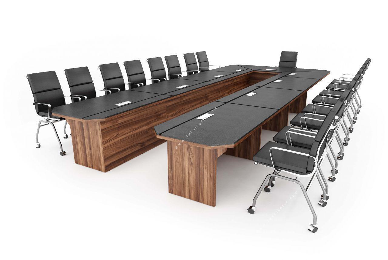 zanotta u sümenli toplantı masası 447cm