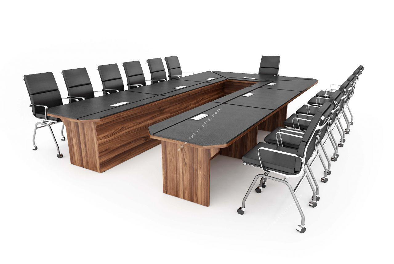 zanotta u sümenli toplantı masası 589cm