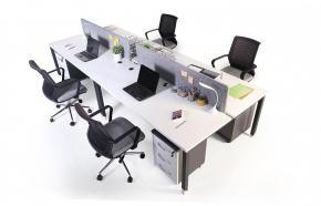 aveo dörtlü masa 360cm kumaş seperatör