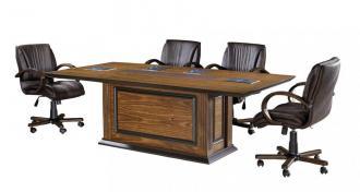 grade işlemeli toplantı masası 220cm